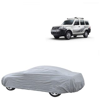 SpeedRo Water Resistant  Car Cover For Fiat Punto (Silver Without Mirror )