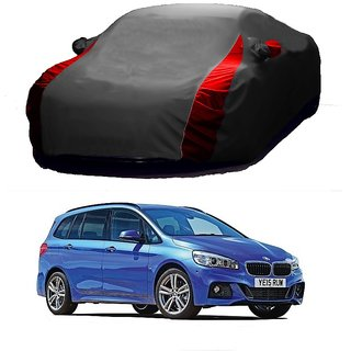 SpeedRo Water Resistant  Car Cover For Maruti Suzuki Zen Estilo (Designer Grey  Red )