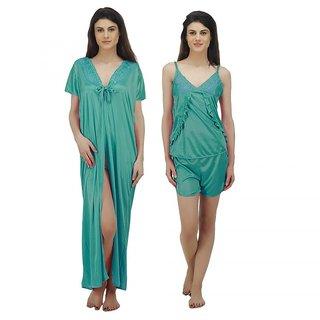 e7277f4dbae Buy Arlopa 3 Pieces Nightwear in satin Online - Get 67% Off