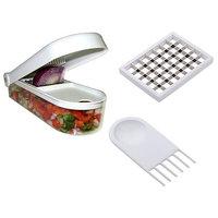 Vegetable Fruit Chopper Dicer Onion Salad Potato Chips Storage Container
