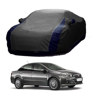 SpeedRo Water Resistant  Car Cover For Renault Lodgy (Designer Grey  Blue )