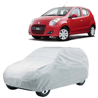 RideZ Car Cover For Maruti Suzuki Alto (Silver Without Mirror )