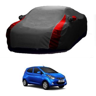 InTrend Water Resistant  Car Cover For Land Rover Discovery Sport (Designer Grey  Red )