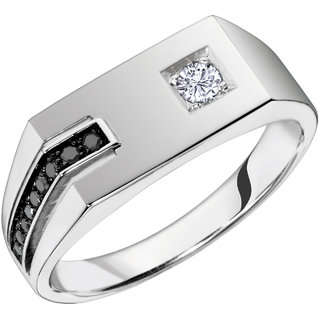 36c4f48bb Buy Rm Jewellers 92.5 Sterling Silver American Diamond Stylish Glorious Ring  For Men Online - Get 48% Off