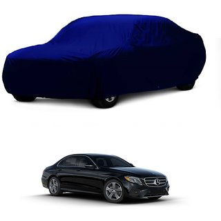 MotRoX UV Resistant Car Cover For Mercedes Benz E-Class (Blue Without Mirror )