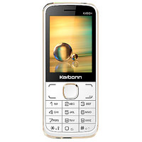 Karbonn K490 Plus Shakti Dual SIM Basic Phone (Black Re