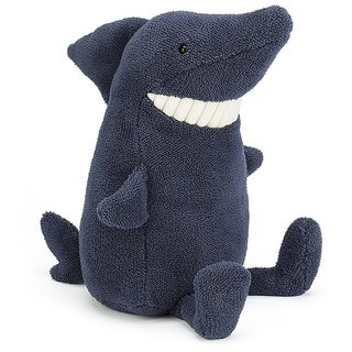 Adorable Jellycat Toothie Plush Shark in Blue