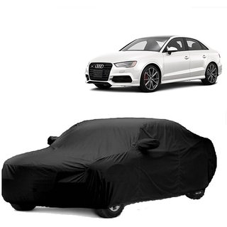AutoBurn UV Resistant Car Cover For Maruti Suzuki Stingray (Black With Mirror )