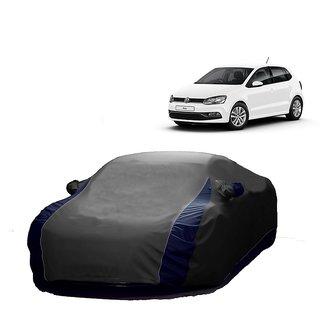 AutoBurn UV Resistant Car Cover For Volvo S40 (Designer Grey  Blue )