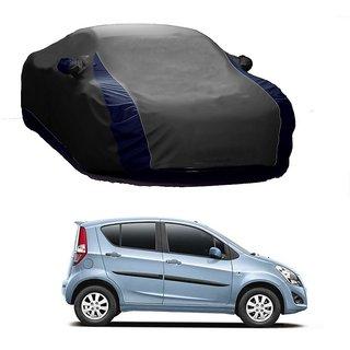 SpeedGlorY Water Resistant  Car Cover For Mahindra Scorpio (Designer Grey  Blue )