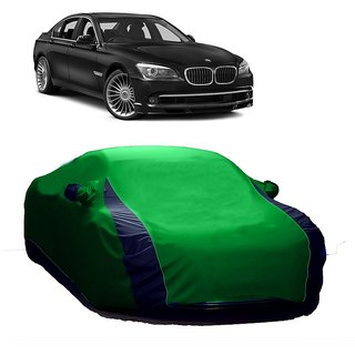 InTrend UV Resistant Car Cover For Audi A8 (Designer Green  Blue )
