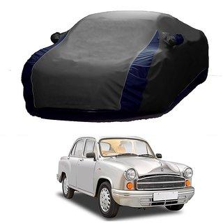 SpeedGlorY Water Resistant  Car Cover For Maruti Suzuki Alto K10 (Designer Grey  Blue )