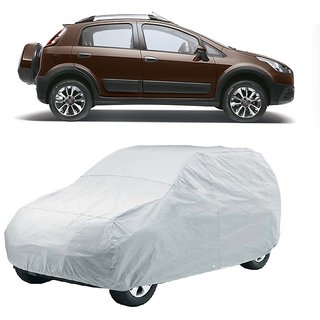 SpeedGlorY Water Resistant  Car Cover For Ford Aspire (Silver Without Mirror )