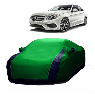 DrivingAID All Weather  Car Cover For Toyota Cruiser (Designer Green  Blue )