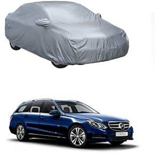 DrivingAID UV Resistant Car Cover For Hyundai Creta (Silver With Mirror )