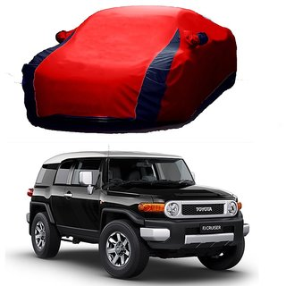 MotRoX Water Resistant  Car Cover For Mini Cooper (Designer Red  Blue )