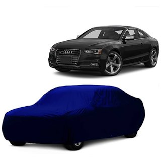 MotRoX Car Cover For Skoda Superb (Blue Without Mirror )