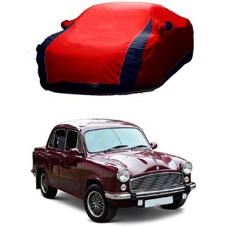 AutoBurn Water Resistant  Car Cover For Mercedes Benz Cdi (Designer Red  Blue )