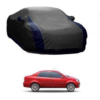 AutoBurn UV Resistant Car Cover For Maruti Suzuki Esteem (Designer Grey  Blue )
