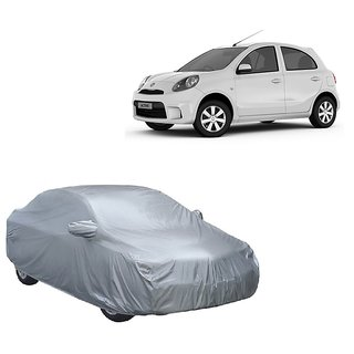 RideZ Car Cover For Fiat Petra (Silver With Mirror )