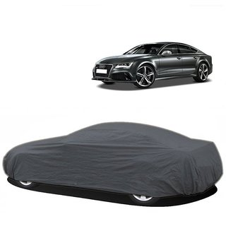 RideZ Car Cover For Renault Scala (Grey Without Mirror )