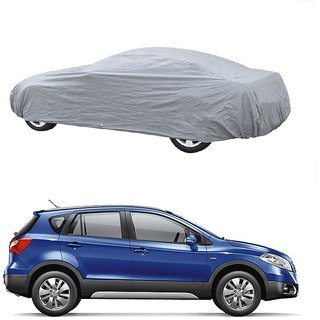 RideZ Car Cover For Tata Sonata (Silver Without Mirror )