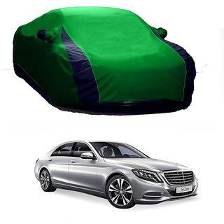 InTrend UV Resistant Car Cover For Chevrolet Chevrolet Enjoy (Designer Green  Blue )