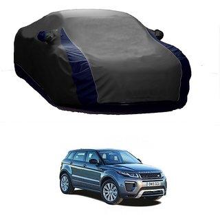 AutoBurn UV Resistant Car Cover For Nissan Evalia (Designer Grey  Blue )