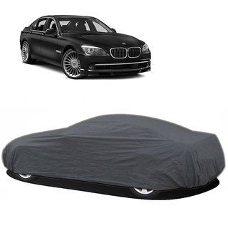 DrivingAID Car Cover For Toyota Altis (Grey Without Mirror )