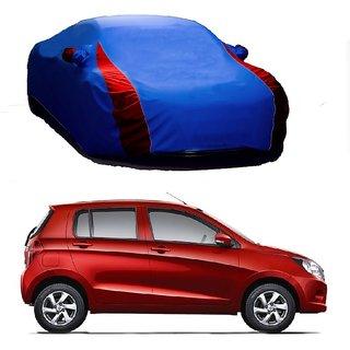 AutoBurn UV Resistant Car Cover For Toyota Camry (Designer Blue  Red )