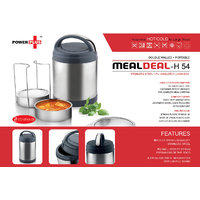 Meal Deal Insulated Lunch Box (With Stainless Steel Containers) - 3 Containers