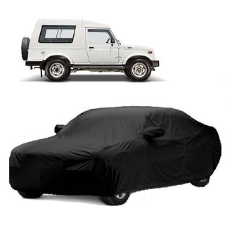 Bull Rider All Weather  Car Cover For BMW I8 (Black With Mirror )