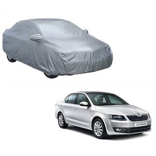 Speediza Water Resistant  Car Cover For Fiat Punto Evo (Silver With Mirror )