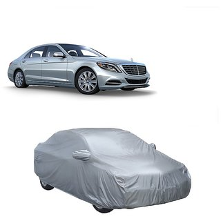 Bull Rider All Weather  Car Cover For Tata Sonata Embera (Silver With Mirror )