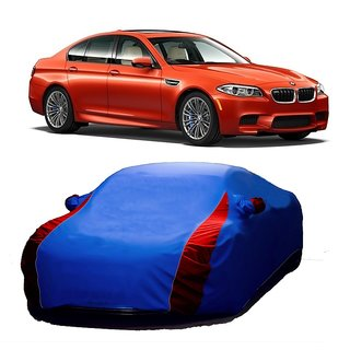 SpeedGlorY Water Resistant  Car Cover For Nissan Micra (Designer Blue  Red )