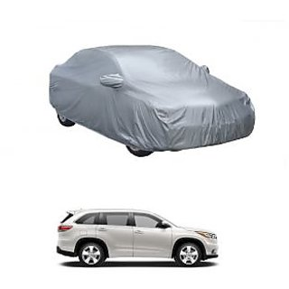 InTrend Water Resistant  Car Cover For Maruti Suzuki Gypsy MG-410 (Silver With Mirror )