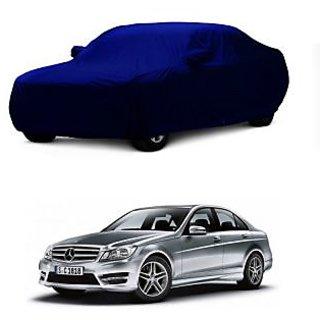 InTrend Water Resistant  Car Cover For Maruti Suzuki Alto-800 (Blue With Mirror )