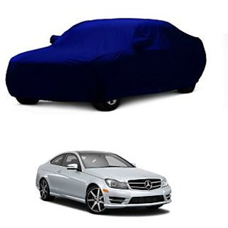 InTrend Water Resistant  Car Cover For Maruti Suzuki Alto K10 Old (Blue With Mirror )