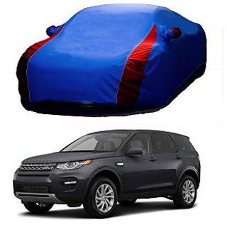 Speediza Water Resistant  Car Cover For Chevrolet Chevrolet Enjoy (Designer Blue  Red )
