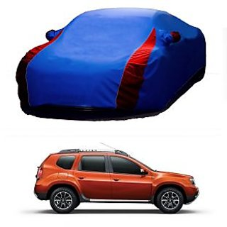 Speediza Water Resistant  Car Cover For Maruti Suzuki Ciaz (Designer Blue  Red )