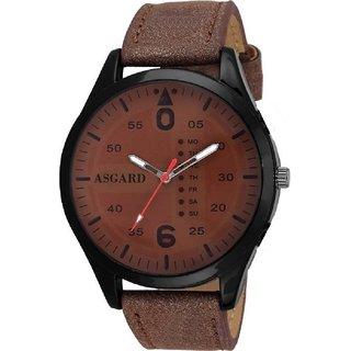 5b057205831 Buy ASGARD Classy Black Dial Watch for Men