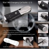 10 In 1 Mini Emergency Car Toolkit