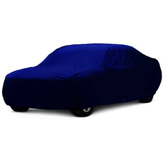 MotRoX UV Resistant Car Cover For Ford Ikon (Blue Without Mirror )