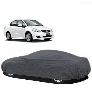 RideZ UV Resistant Car Cover For Maruti Suzuki Swift Dzire (Grey Without Mirror )