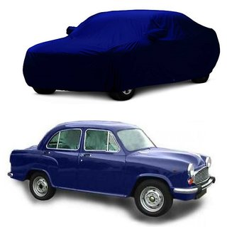 InTrend Water Resistant  Car Cover For Mercedes Benz Benz A-Class (Blue With Mirror )