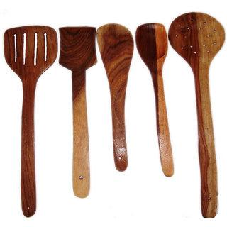 Wooden Skimmer - Set of 5