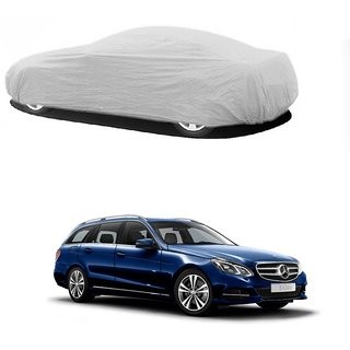 DrivingAID Car Cover For Hyundai Creta (Silver Without Mirror )