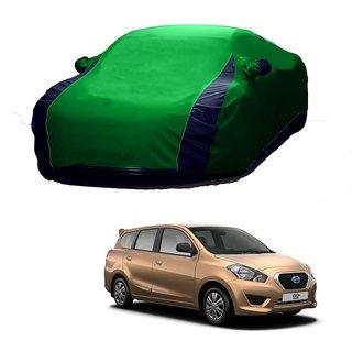 DrivingAID All Weather  Car Cover For Hyundai Grand I10 (Designer Green  Blue )