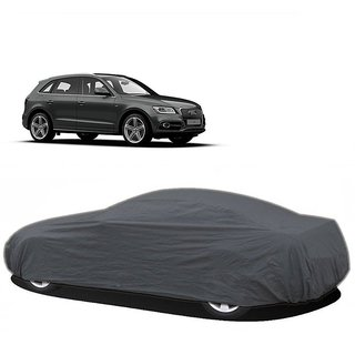 DrivingAID UV Resistant Car Cover For Tata Safari Dicor (Grey Without Mirror )