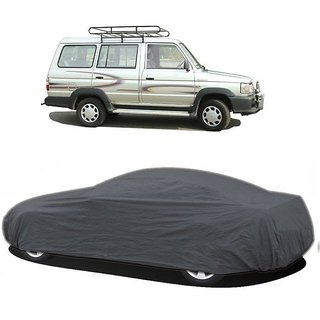 DrivingAID UV Resistant Car Cover For Chevrolet Sail (Grey Without Mirror )